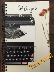 Writing notebook from a friend