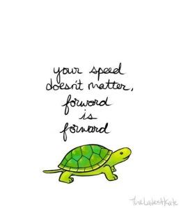 Forward is Forward